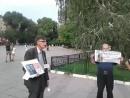 мирный переулок пикет в защиту политзаключенных Сбор пожертвований