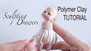 Sculpting Fairy Drawers Polymer Clay Tutorial