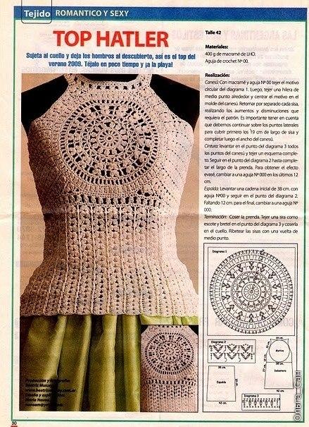О стилях вязания крючком