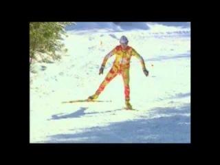 Обучение техники конькового хода