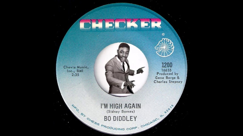 Bo Diddley - I'm High Again [Checker] 1968 Psychedelic Funk 45