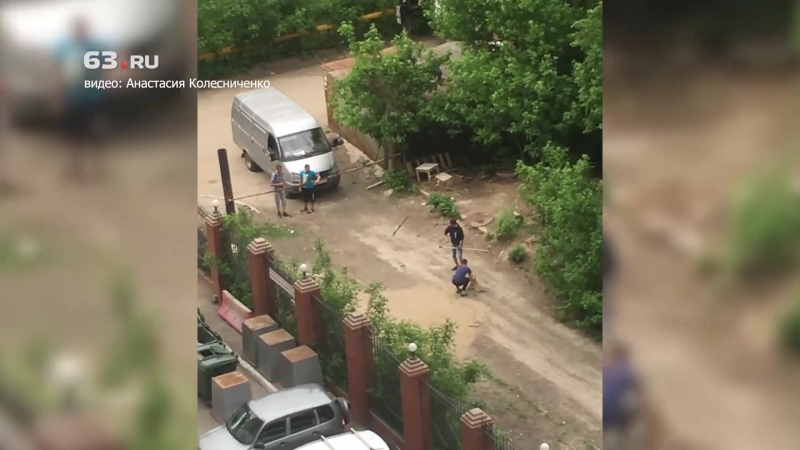 Отлов собак на 3-й просеке в Самаре