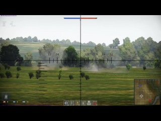 Лучший бой War Thunder - The Invisble Tank