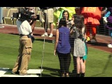 Cimorelli Sings National Anthem at Dodger Stadium 7-13-13 - Six Sisters Famous on YouTube