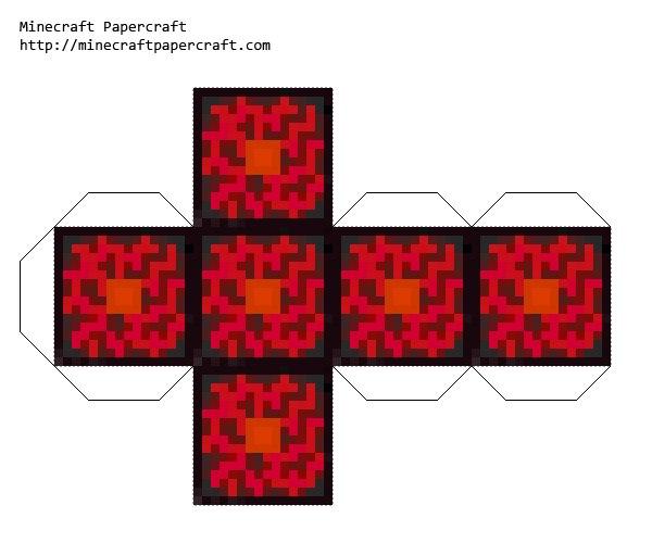 Minecraft Nether Reactor Core