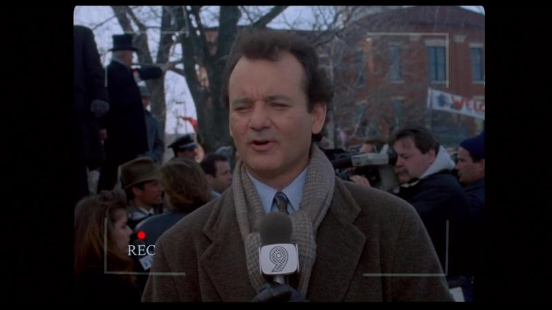 День Сурка / Groundhog Day. 1993. 1080р. Перевод дублированный. VHS
