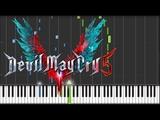 Devil May Cry 5 OST Devil Trigger Nero's Battle Theme Piano Synthesia