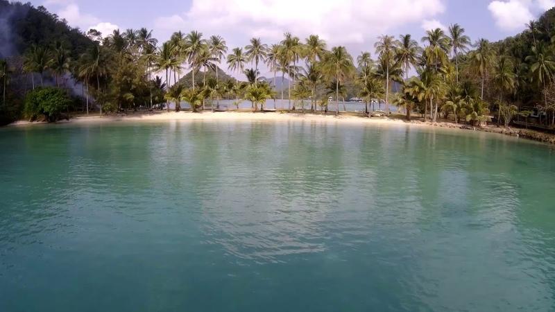 полёт над островом Ко Нгам (Ко Чанг)