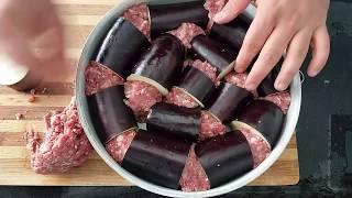 Patlıcanlı Tepsi Kebabı - Tepsi kebap nasıl yapılır - pratik yemek tarifleri - KES PİŞİR YE