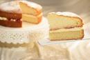 Домашний бисквитный торт