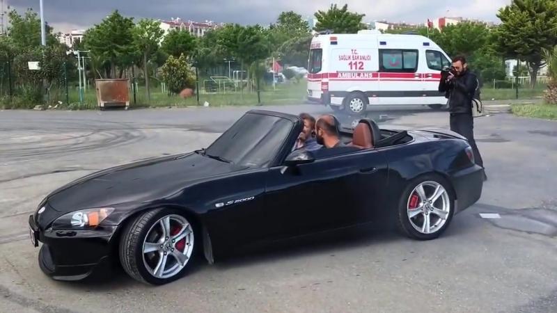 ÜNAL TURAN HONDA S2000 DRİFT CEKİMLERİ.mp4