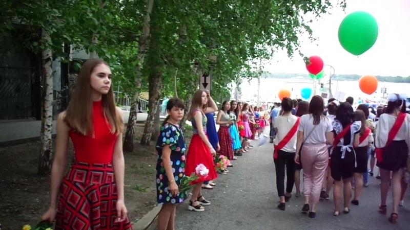 Шествие выпускников 2018 Самара