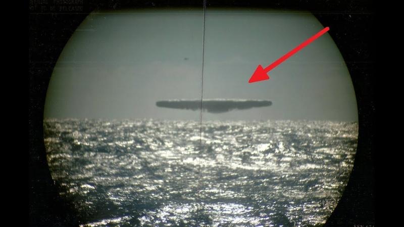 Красное облако поглотило целое звено военных истребителей. Подводные пришельцы Моря Дьявола.