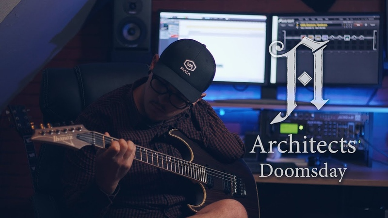 Architects | Doomsday | Guitar Cover by one handed guitarist TAB