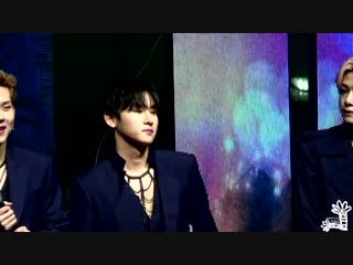 VK180408 MONSTA X fancam (I.M focus) @ Geumcheon Harmony Cherry Blossom Festival
