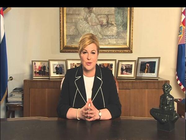 Obraćanje predsjednice Kolinde Grabar-Kitarović