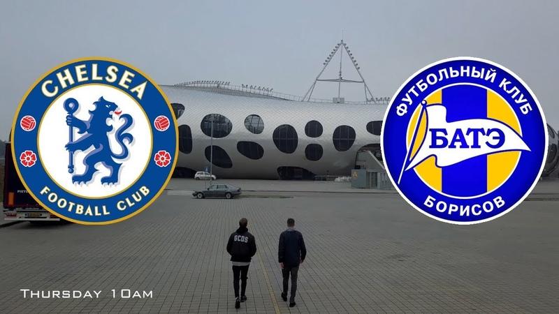 OFFICIAL CHELSEA FC FILM - BATE BORISOV EUROPA LEAGUE Ontheroad
