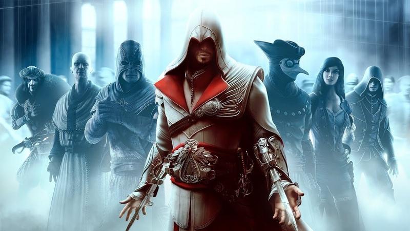 Assassin's Creed Brotherhood • Таинственный незнакомец в маске 12