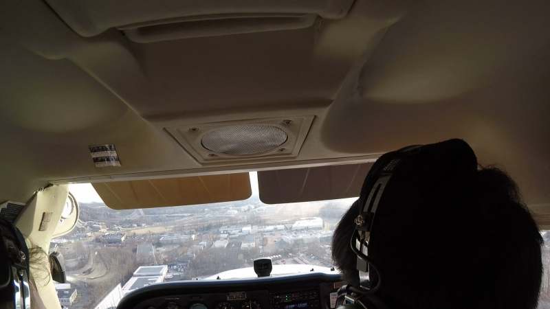 My first landing on Cessna-172 @ KCDW Essex County Airport