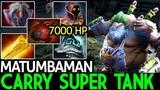 Matumbaman Pudge Carry Super Tank with +7000 HP 7.17 Dota 2