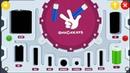 ФИКСИКИ батарейки. Сортируем по размеру. Развивающий мультик игра для детей смотреть онлайн.