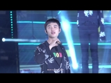 FANCAM 180623 27th Lotte Family K-Wave Concert @ EXO's D.O. What U do