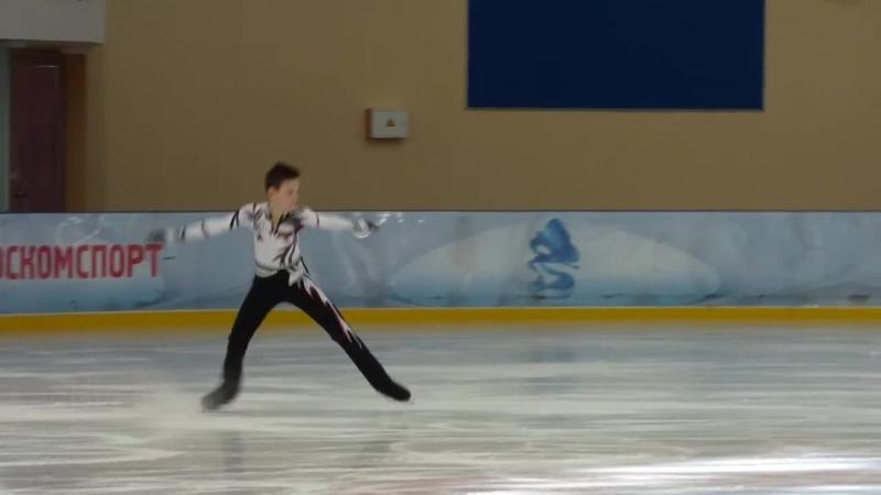 Артем Ковалев, ПП, Первенство Москвы по старшему возрасту 2018