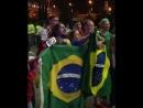 Сегодня ночью приземлилась в Сочи сборная Бразилии