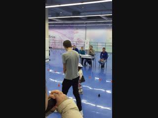 2 Года. Самая юная спортсменка на роликах. Зимний Кубок Сибири