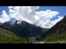 по пути на ледник Chalaadi