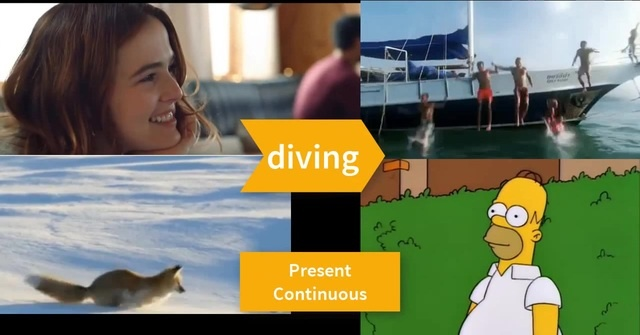 Learn English with Ed Sheeran - Perfect. Verb dive.Present Continuous. Answer the questions. Level A2.