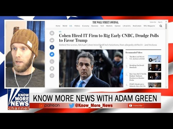Michael Cohen Rigged Drudge Poll for Trump