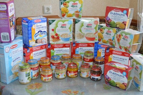 детское питание для похудения