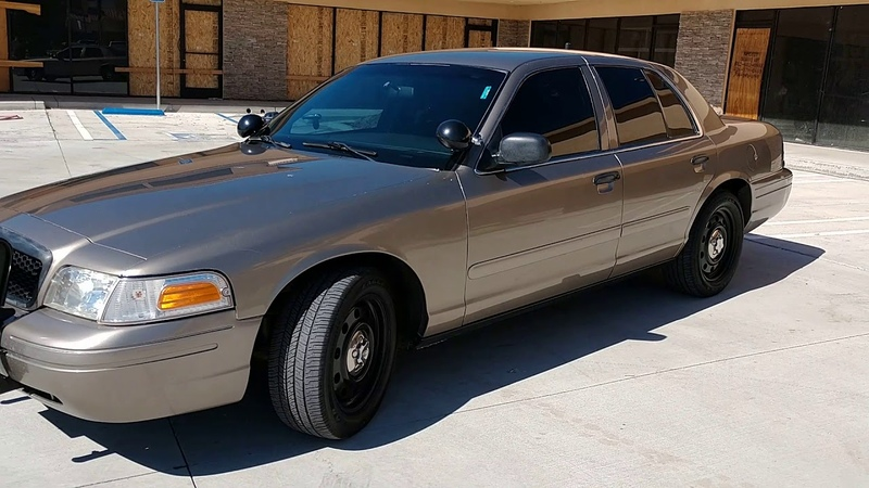 2008 FORD CROWN VICTORIA POLICE INTERCEPTOR AROZONA BEIGE AQ FOR SALE Still 4 SALE AS OF 61119