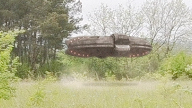 Spectacular UFO Takeoff in forest in SPAIN April 2018