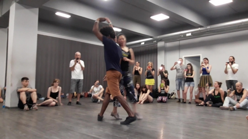 Forroaru-1 день-Бернард и Аня (танец)