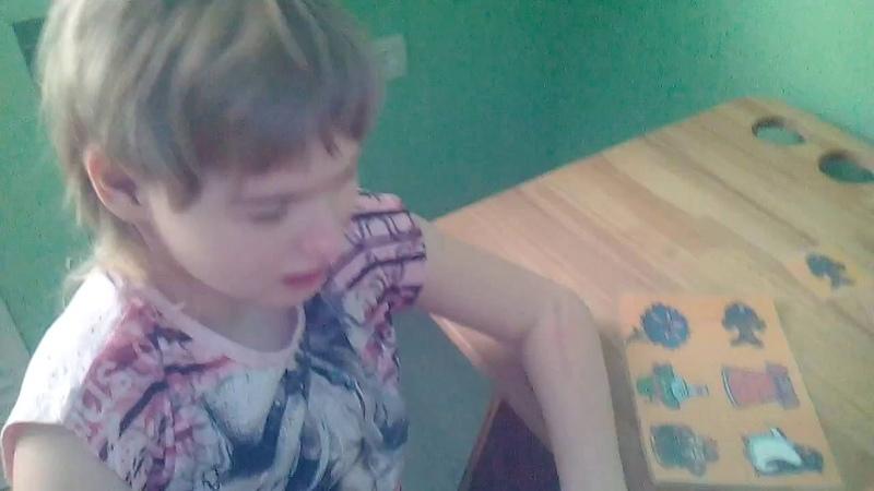 Аутизм у детей . Вероничка развивающие занятия. 2016 04 13 09 26 23