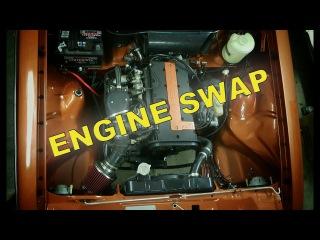 Opel Kadett C 2.0 16v walk around Guide, Engine Swap ombyg/build/umbau