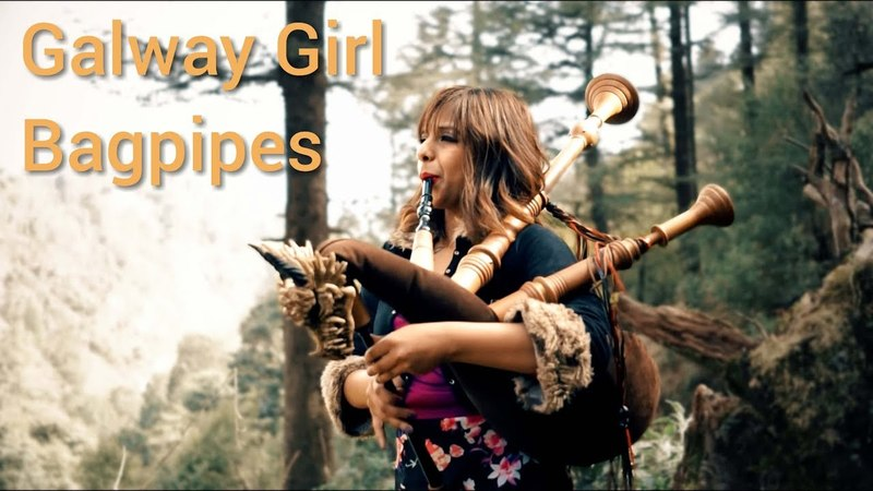 Galway Girl - Ed Sheeran | Bagpipe Cover ( The Snake Charmer )