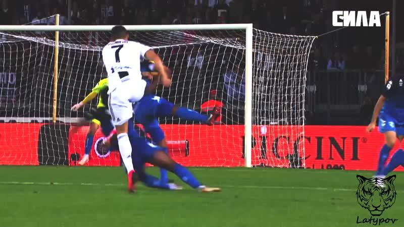 Криштиану Роналду забивает гол за Ювентус, Cristiano Ronaldo |Latypov|