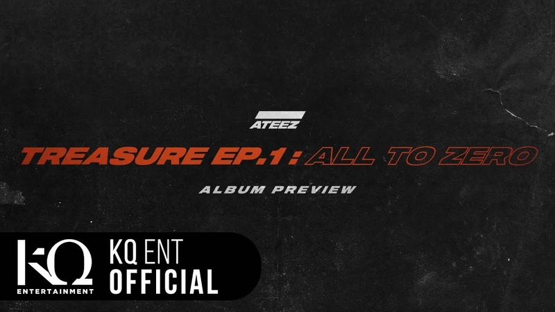 ATEEZ(에이티즈) [TREASURE EP.1 : All To Zero] Preview