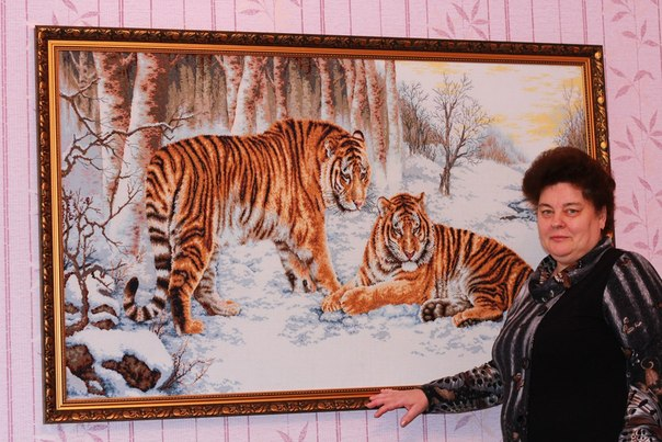 Схема бенгальские тигры