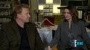 Caterina Scorsone Kevin McKidd Kim Raver Talk Love Triangle