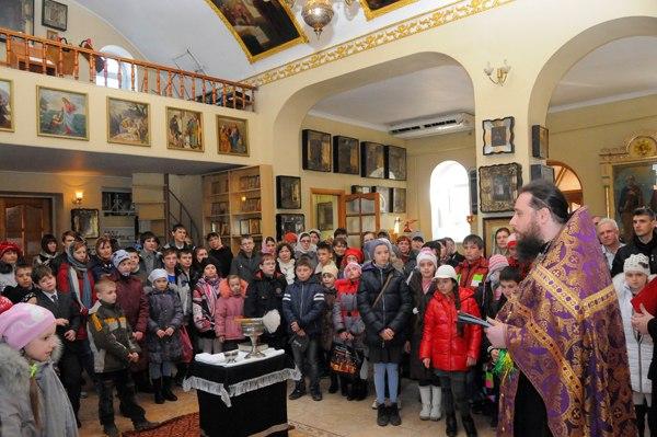 В Таганрогском благочинии прошёл 2-ой тур ученической олимпиады по закону Божию