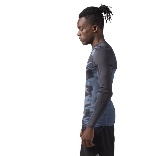 Компрессионная футболка с длинным рукавом