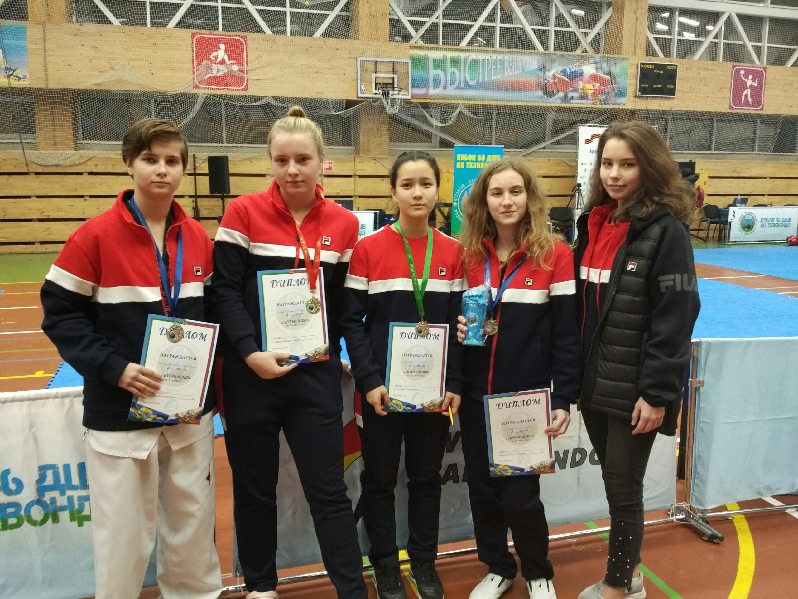 Female-Centrvostok-Team