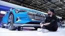 Посмотрели электрический Audi e tron круче Tesla Model X