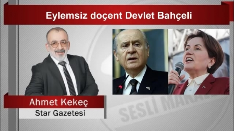 (7) Ahmet KEKEÇ Eylemsiz doçent Devlet Bahçeli - YouTube
