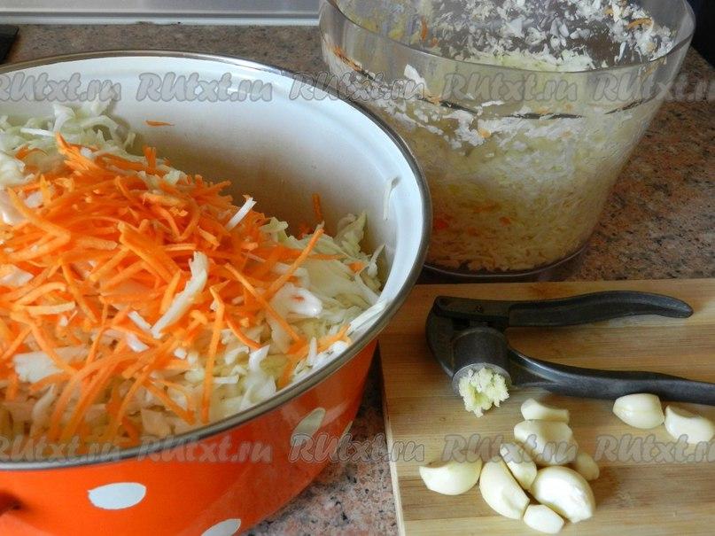 рецепт маринованной капусты быстрого приготовления с фото
