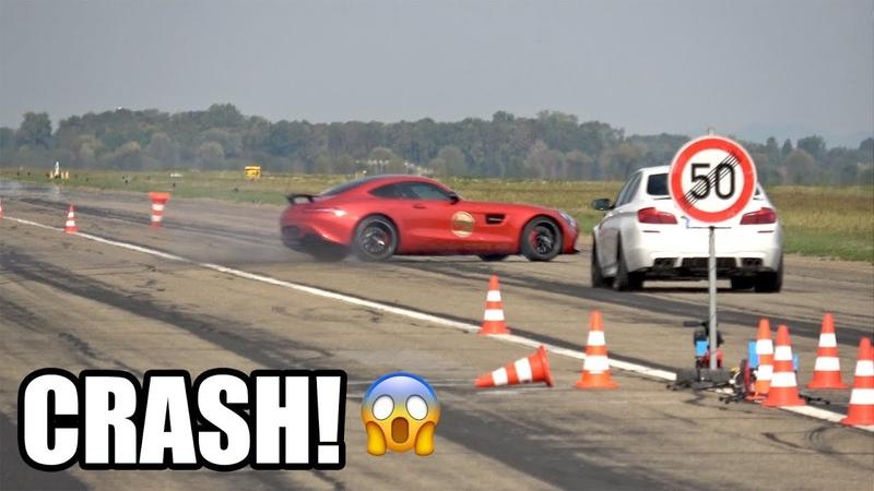 744HP Mercedes-AMG GT S $25.000 CRASH!